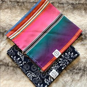 Bond & Co. Dog Bandana L/XL - Set of 2
